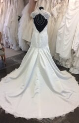 Amanda Wyatt | Wedding Dress | Drop Waist | ST512S
