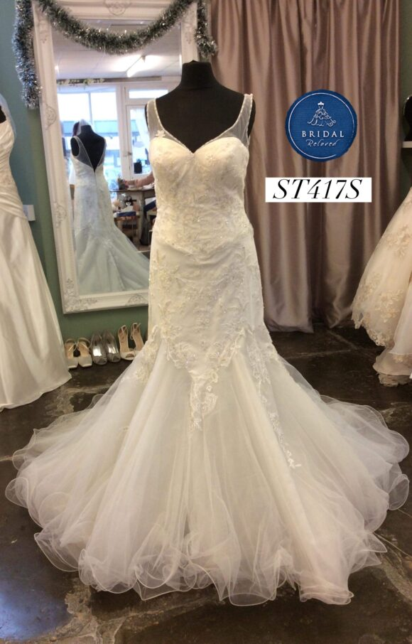 Ritva Westenius   Wedding Dress   Fit to Flare   ST417S
