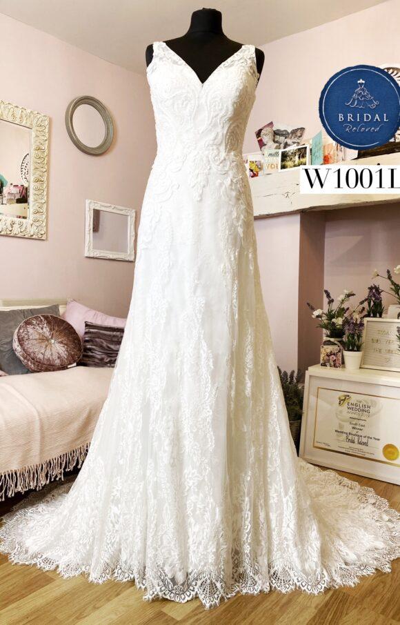White Rose   Wedding Dress   Aline   W1001L