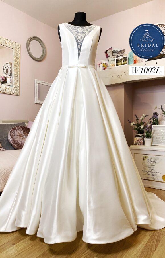 Lou Lou   Wedding Dress   Aline   W1002L