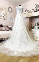 White Rose | Wedding Dress | Aline | W1004L