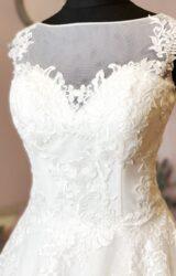 White Rose | Wedding Dress | Aline | W1005L