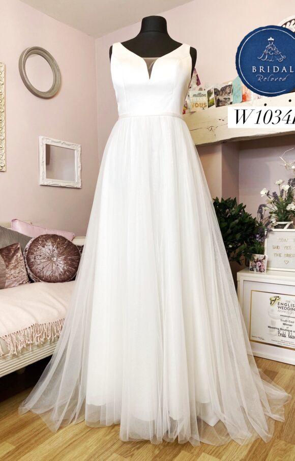 Bianco Evento   Wedding Dress   Aline   W1034L