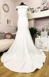 White Rose | Wedding Dress | Fit to Flare | W1023L
