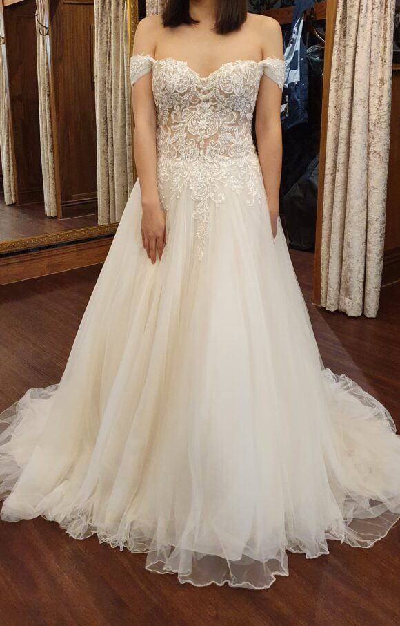 Justin Alexander | Wedding Dress | Aline | C2115