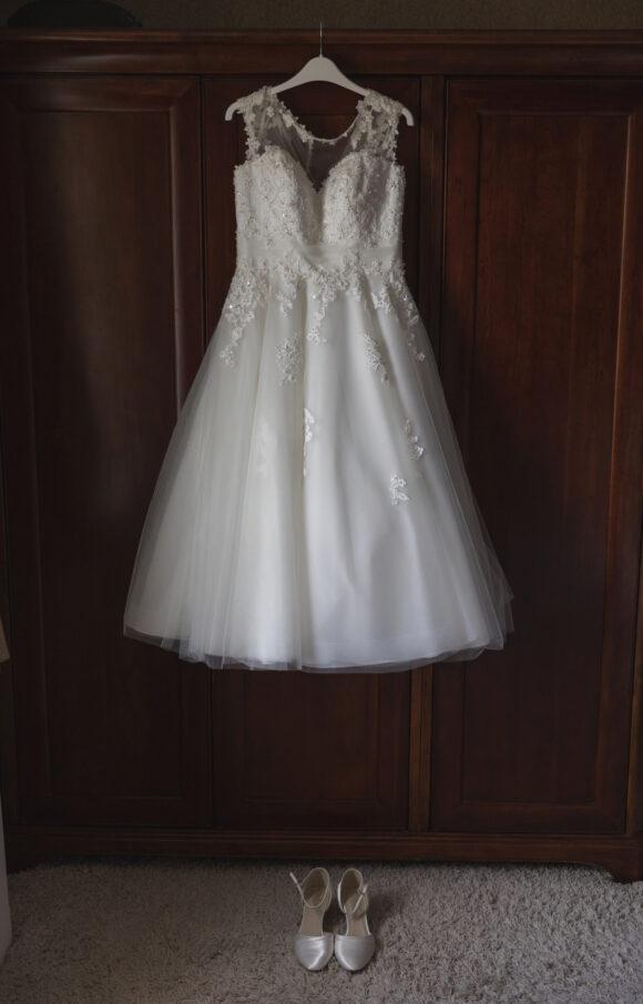 True Bride | Wedding Dress | Tea Length | C2113