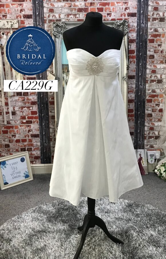 Ian Stuart   Wedding Dress   Tea Length   CA229G