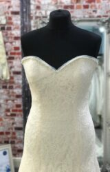 Augusta Jones | Wedding Dress | Drop Waist | CA228G