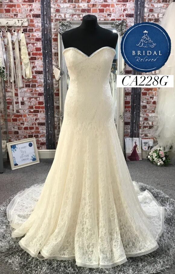 Augusta Jones   Wedding Dress   Drop Waist   CA228G