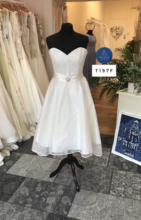 Sassi Holford | Wedding Dress | Tea Length | T197F