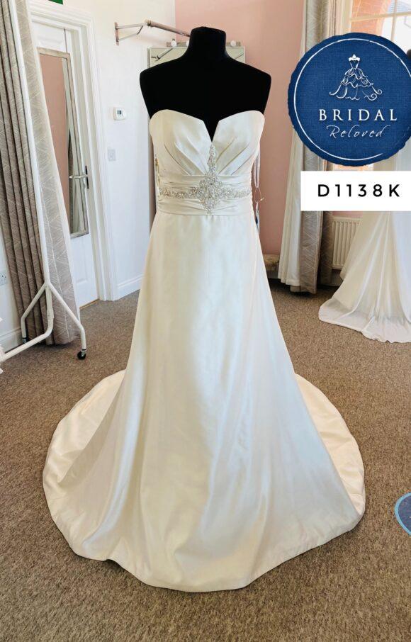 Essense of Australia | Wedding Dress | Fit to Flare | D1138K