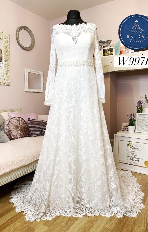White Rose | Wedding Dress | Aline | W997L