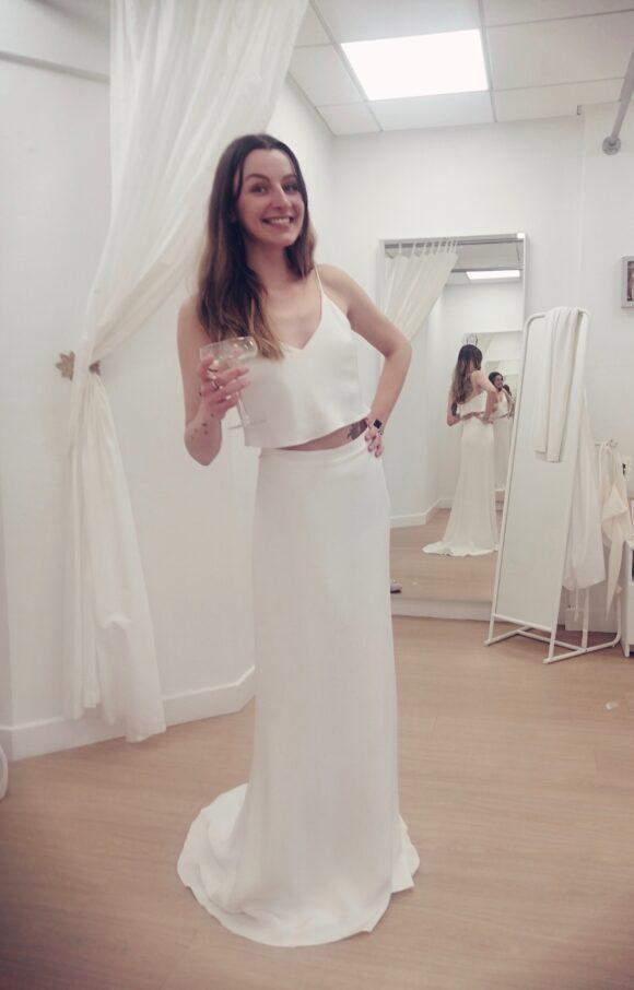 Otaduy | Wedding Dress | Two Piece | C2096