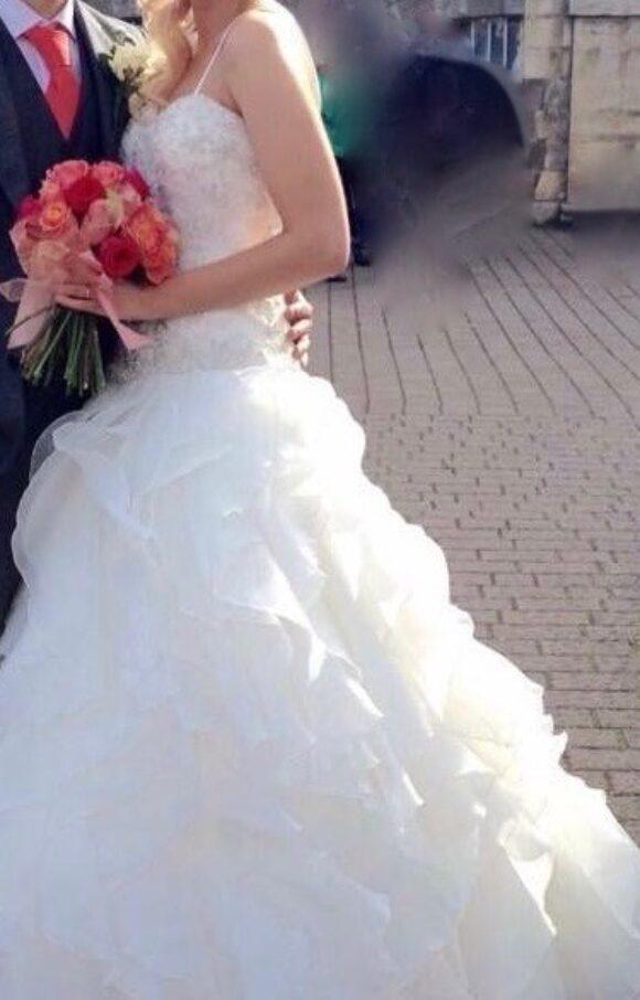 Ronald Joyce | Wedding Dress | Drop Waist | C2100