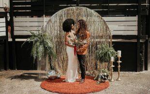 UK Wedding Blog – 'I Feel Love' 70s Disco Wedding Inspiration