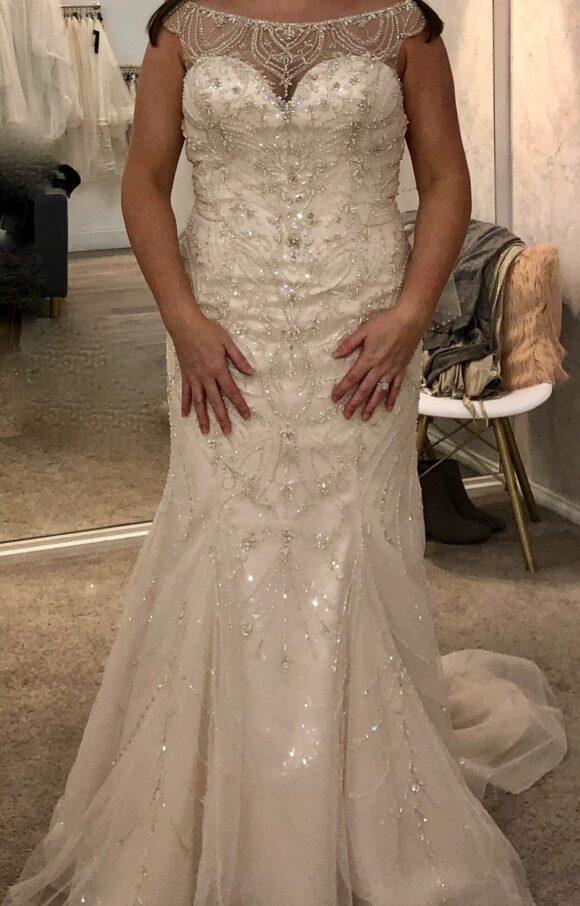 Justin Alexander   Wedding Dress   Fishtail   C2190