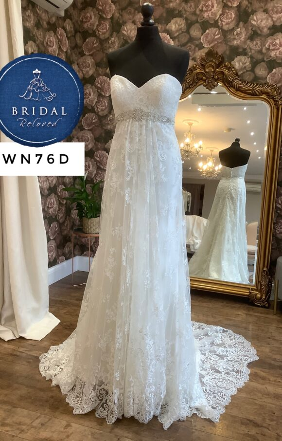 Kenneth Winston   Wedding Dress   Empire   WN76D