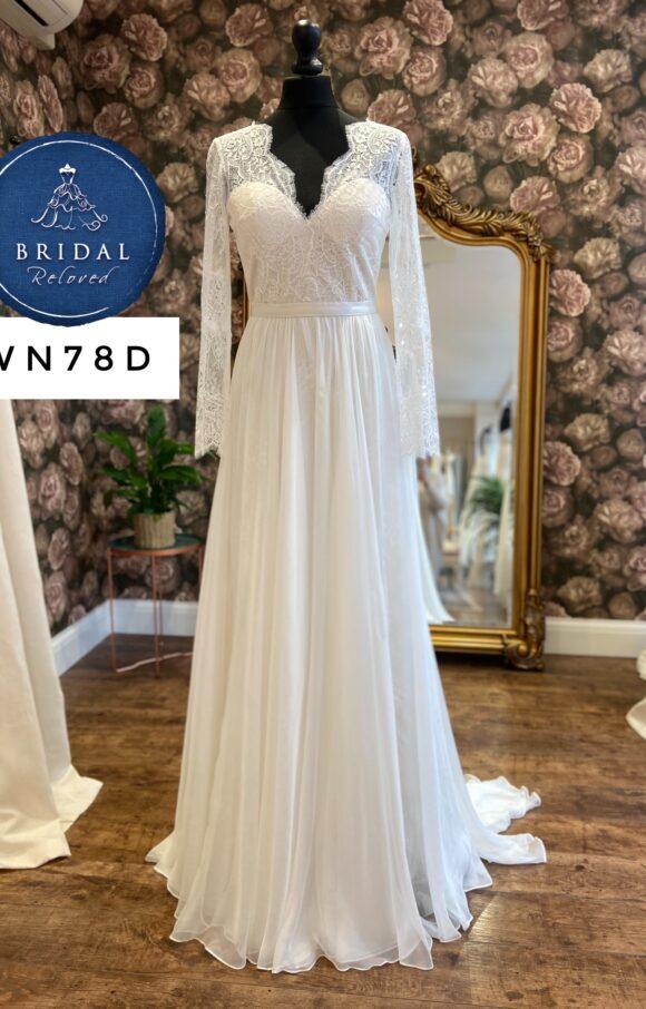 Catherine Deane | Wedding Dress | Aline | WN78D