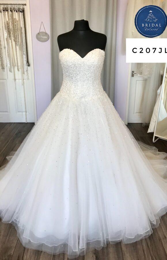 Morilee | Wedding Dress | Aline | C207JL