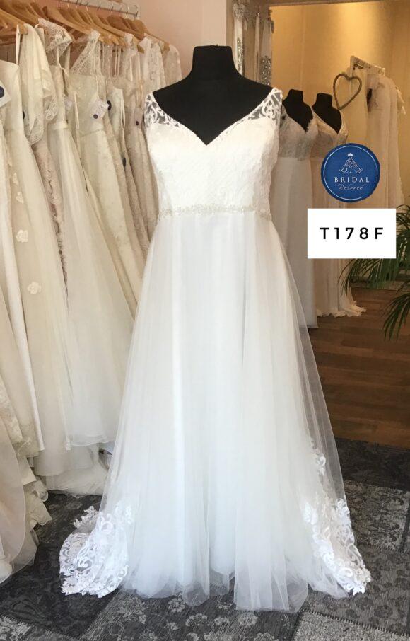 Terra Bridal   Wedding Dress   Aline   T178F