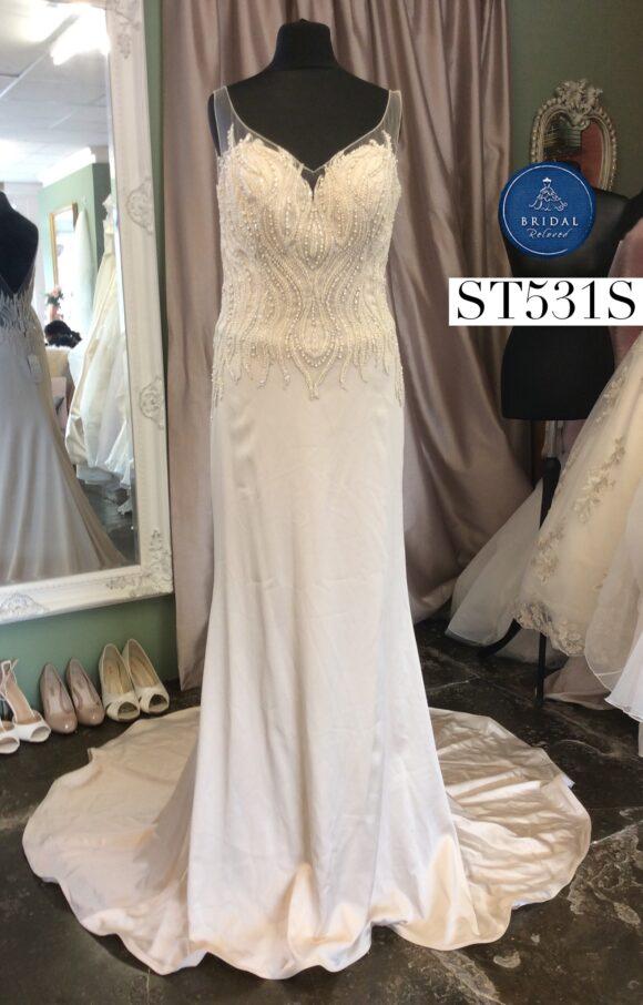 Kenneth Winston   Wedding Dress   Aline   ST531S