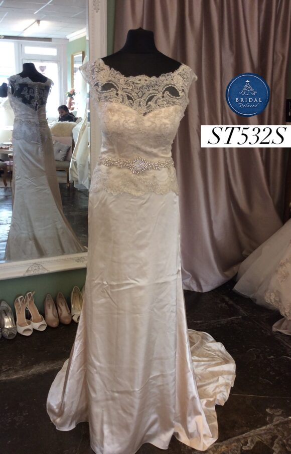 Dando | Wedding Dress | Fit to Flare | ST532S