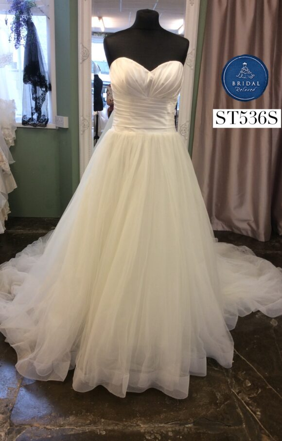 Ellis Bridal | Wedding Dress | Aline | ST536S