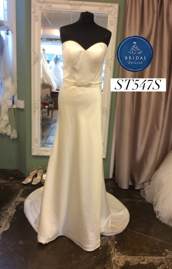 Pure Bride | Wedding Dress | Fit to Flare | ST547S