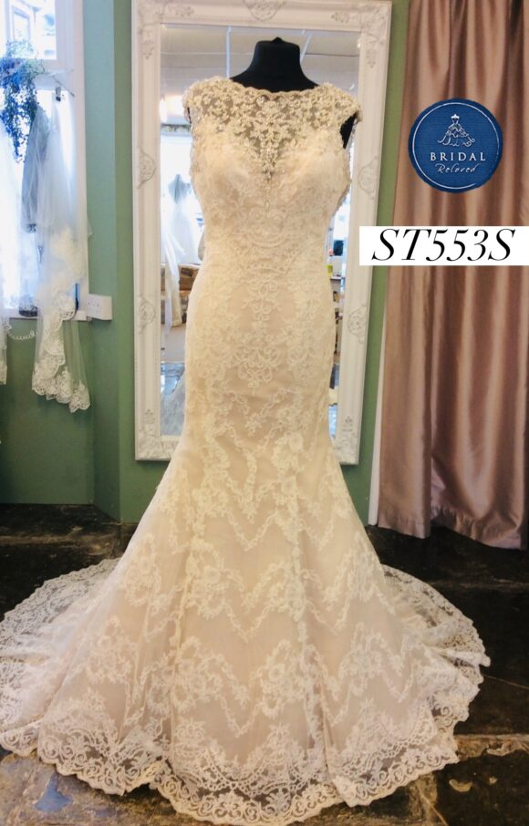 Kenneth Winston   Wedding Dress   Fit to Flare   ST553S