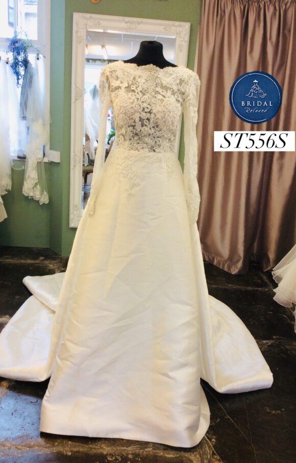 San Patrick | Wedding Dress | Aline | ST556S