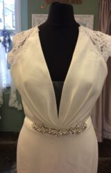 Paloma Blanca | Wedding Dress | Fit to Flare | ST564S