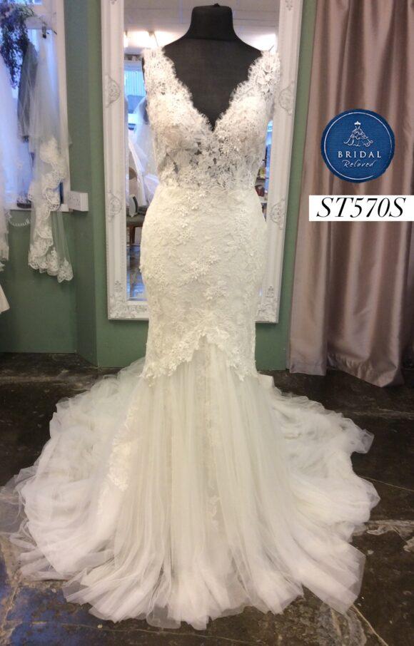 San Patrick | Wedding Dress | Fishtail | ST570S