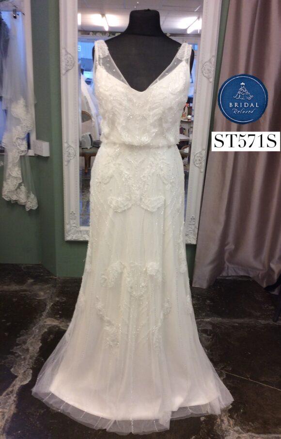 Ellis Bridal   Wedding Dress   Column   ST571S