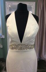 Paloma Blanca | Wedding Dress | Halter Neck | ST565S