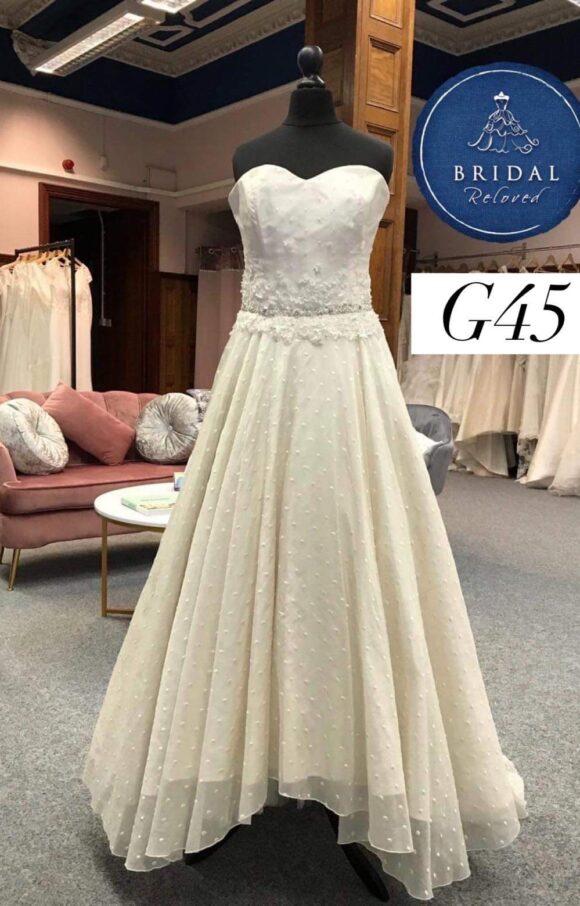 Bowen Dryden   Wedding Dress   Aline   G45