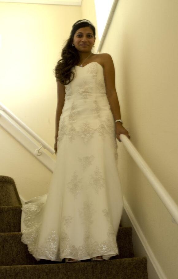 Unknown designer   Wedding Dress   Aline   C2172