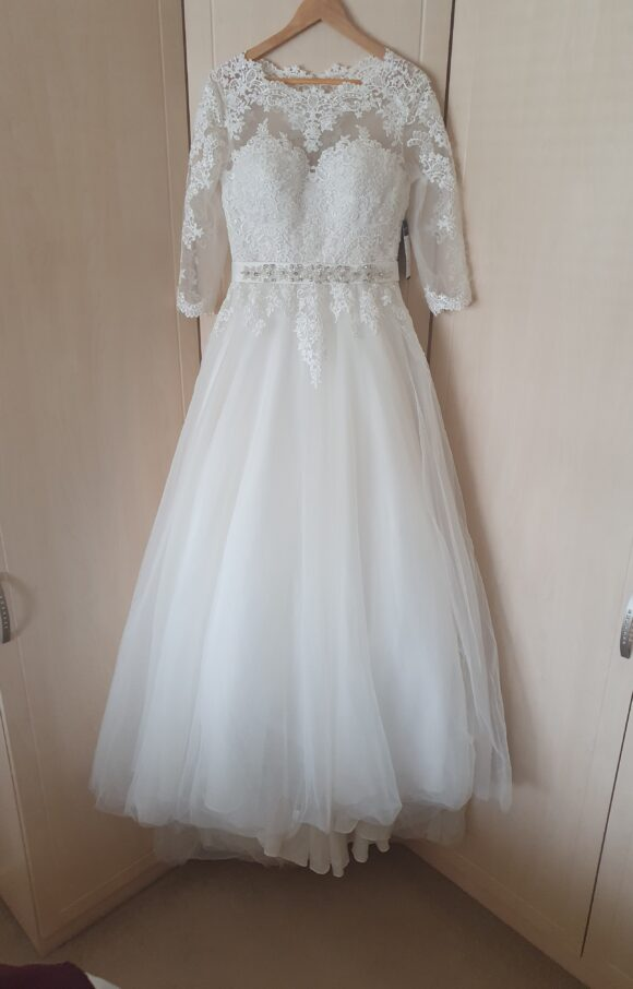 Purple Fox  | Wedding Dress | Aline | C2201