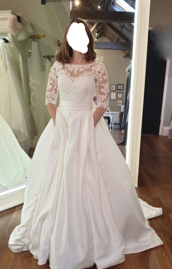 Essense of Australia   Wedding Dress   Aline   C2136