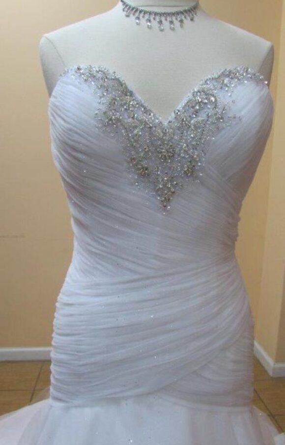 Alfred Angelo | Wedding Dress | Drop Waist | C2203