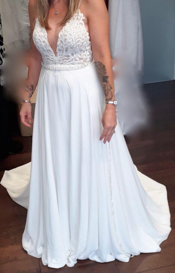 Calla Blanche | Wedding Dress | Aline | C2140
