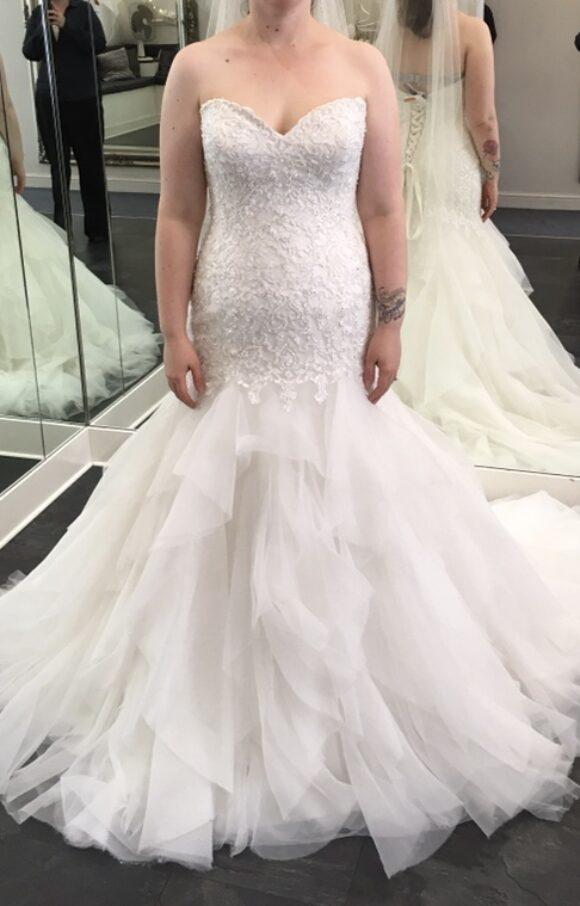 Rebecca Ingram | Wedding Dress | Fit to Flare | C2150