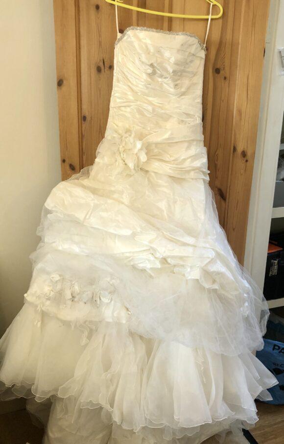 Paris Farage | Wedding Dress | Drop Waist | C2141