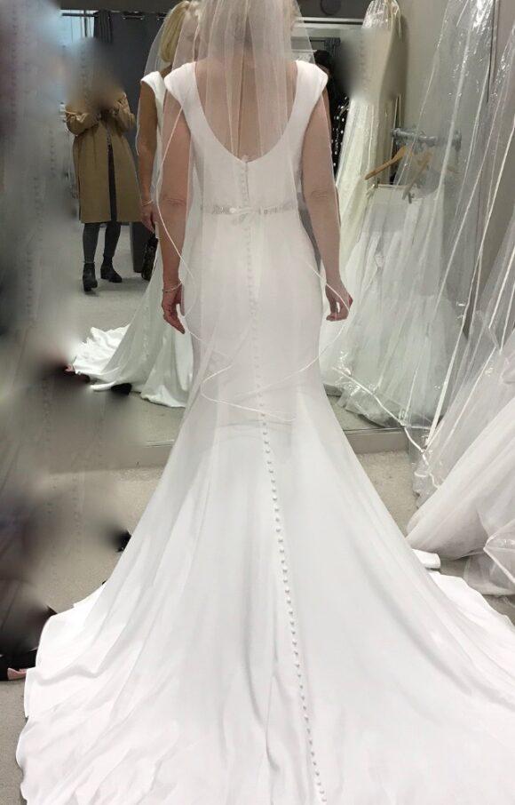 Wed2B | Wedding Dress | Sheath | C2175