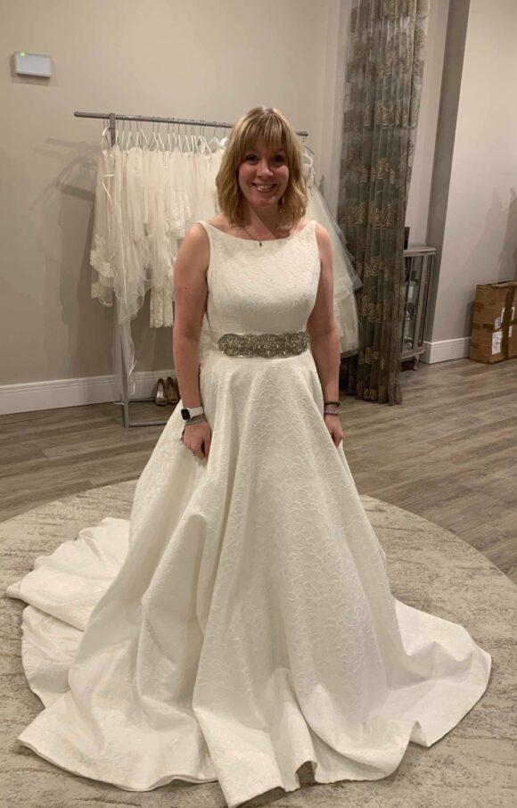 Sassi Holford   Wedding Dress   Aline   C2149