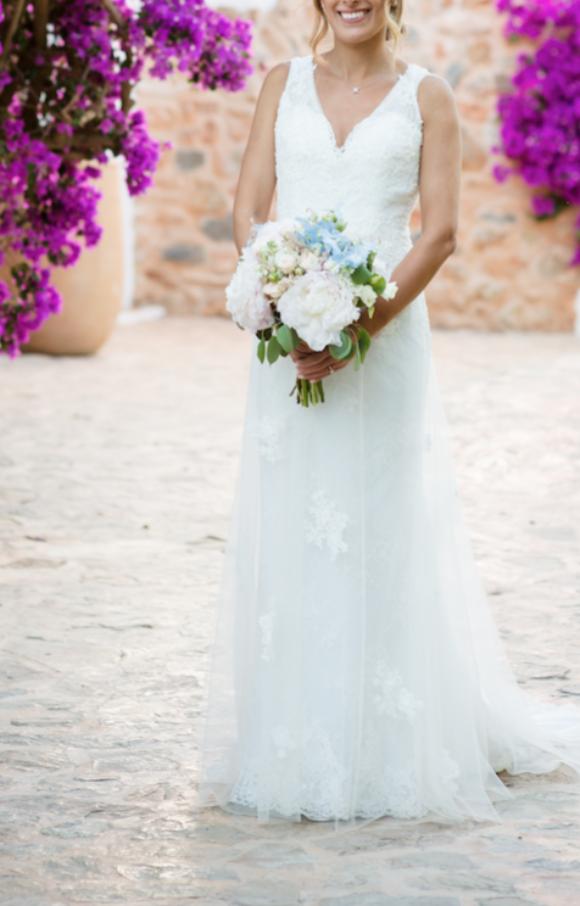 Lusan Mandongus | Wedding Dress | Aline | C2161