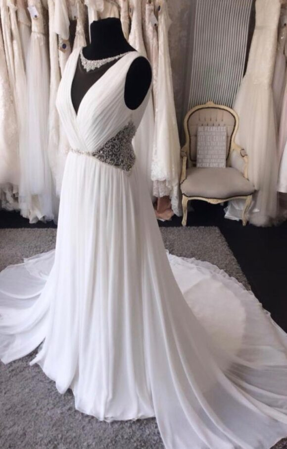 Jasmine Collection   Wedding Dress   Aline   C2169