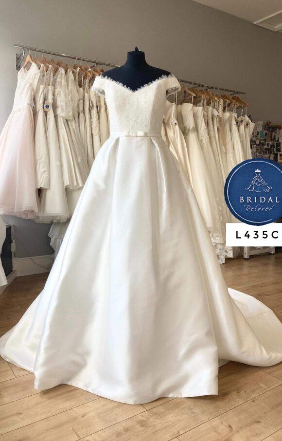 Nicole Spose   Wedding Dress   Aline   L435C
