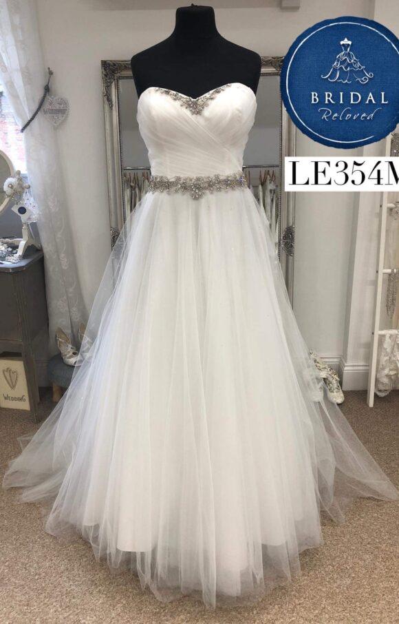 D'zage | Wedding Dress | Aline | LE354M
