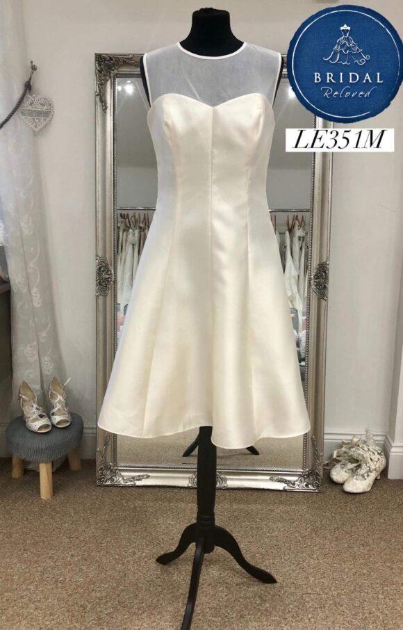 Alfred Sung   Wedding Dress   Tea Length   LE351M