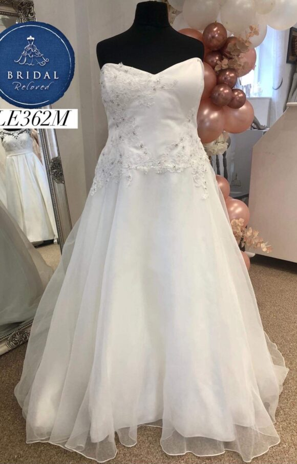 Romantica | Wedding Dress | Aline | LE362M